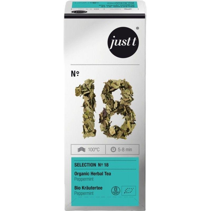 Tēja Just T organiskā piparmētru Peppermint Nr.18