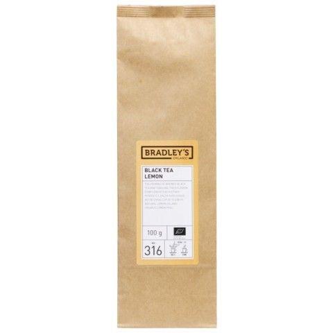 Bradley's bioloģiskā melnā tēja, ar citronu 100g