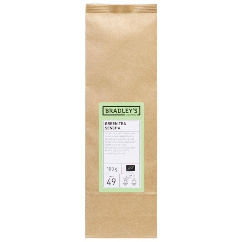 Bradley's Green Tea Sencha 10 x 100g Organic