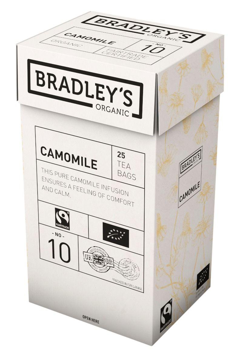 Bradley's Camomile 4 x 25 pss FTO