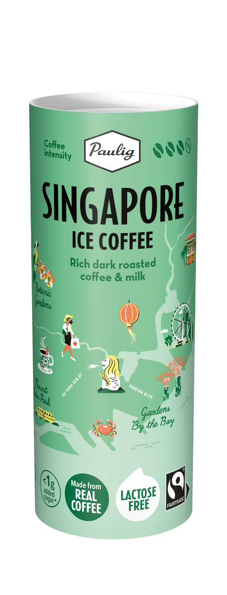 Paulig Singapore Ice Coffee 12x235 ml, Reilu Kauppa